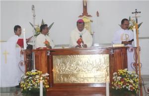 pemberkatan altar
