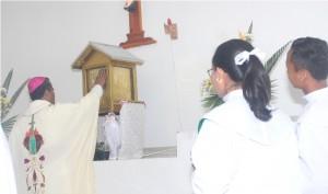 pemberkatan tabernakel